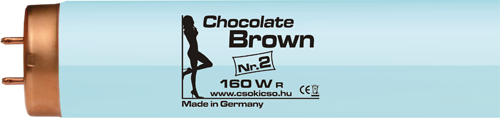 Chocolate Brown Nr.2. szoláriumcső
